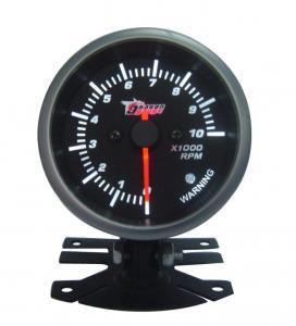 "20 LED Psi / Bar Oil Press Pressure Meter Universal Auto Gauges 2"" 52mm Black Manufactures"