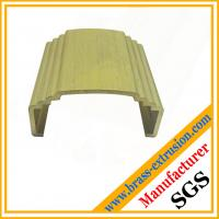 C38500 CuZn39Pb3  CuZn39Pb2 CW612N C37700 copper alloy brass hardware extrusion profiles Manufactures