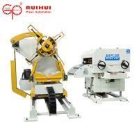 3 In 1 Pneumatic Nc Press Coil Feeder Straightener Uncoiler Machine Manufactures