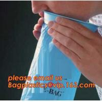1000ml and 2000ml plastic medical emesis bag with custom printing, 24 pcs per pack,Airplane Emesis Vomit Bag Disposable Manufactures