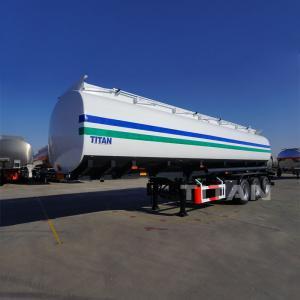 TITAN 45000 litres petroleum tank semi tank trailer for sale palm oil tanker Manufactures