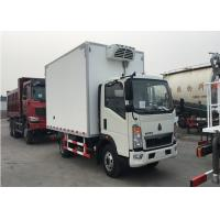 10 T Refrigerated Box Truck With SINOTRUK HOWO Chassis Polymer Composites Van Board Manufactures