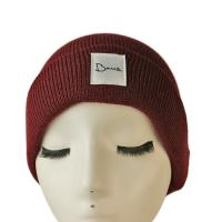 Popular high quality customized logo and color blank winter knitted  hats caps Manufactures
