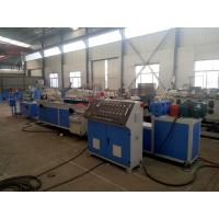 China Foamed Plastic Profile Extrusion Line , Recycling Material PVC Profile Extrusion Machine on sale