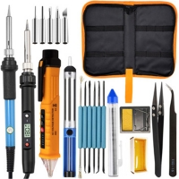 UK Plug 60W 80W K01S Soldering Iron Kit 1.4M Wire Length Manufactures