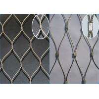 AISI 316 Grade Stainless Steel Wire Rope Mesh Anti - Falling Mesh Fence Manufactures