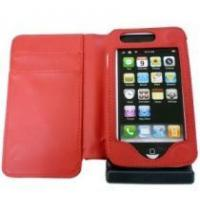 iPhone side leather case, with solar charger, 1500mAh Manufactures