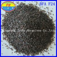 China Brown fused aluminum oxide for Abrasive F24 on sale