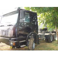 371HP 380HP 420HP 40 ton HOWO 4X2 6X4 6X6 Heavy Duty Truck , Tractor Truck,EURO III Prime Mover Truck , Wild Black, Red Manufactures