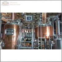 Microbrewery equipment for sale with capacity 1000L/day Manufactures