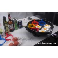 China Kitchen Use Fried eggs boiled eggs,steamed custard DIY mold omelette circle for sale