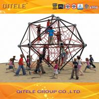 Capacity 10 Kids Climbing Net Color Customized Corrosion Resistance Manufactures