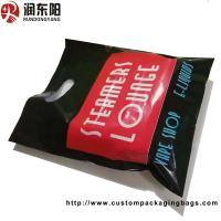 PE Material Die Cut Handle Plastic Bags Stand Up Pouch Recyclable For Shopping Manufactures