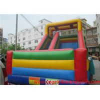 Commercial inflatable slide for kids , giant slide inflatable bouncers for sale Manufactures