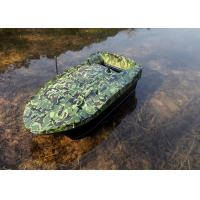 OEM / ODM Camouflage bait boat , gps autopilot bait boat rc type 2.4GHz Manufactures