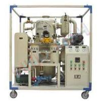 China Double stage high-efficiency vacuum insulation oil purifier(sinonsh315) on sale