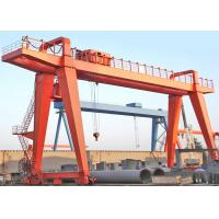 Workshop Double Beam Driven Gantry Crane 10 Ton With Electric Trolley for sale
