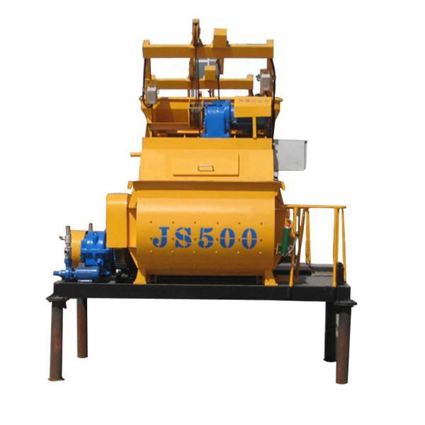 Quality Cement Concrete Mixer JS500 Concrete Mixer Industrial Concrete Mixer for sale