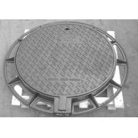 China Professional Ductile Iron Manhole Cover Customized Dimension And Colors on sale
