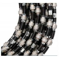 diamond wire saw for reinforced concrete with 40 beads Plastic & Spring fixing Manufactures