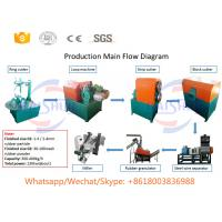 China Semi-automatic lower price waste tire recycling machine for sale Manufactures
