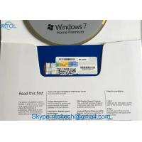 Retail Box Microsoft Windows 7 Professional OEM Key 32 / 64 BIT Activation Online Multi Language Manufactures