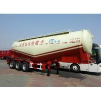 Widely Use Cement Tanker Trailer Bulk Cement Truck For Construction Site Manufactures