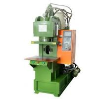 China AC Power Cords Vertical Injection Molding Machine 5.8 Tons Screw Type wholesale