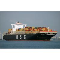 MSC SEA FREIGHT FROM CHINA TO EUROPE & MEDITERRANEAN AREA Manufactures