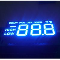 """0.5 """" Triple Digit LED Segment Display Low Power Consumption For Refrigerator Control Manufactures"""