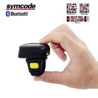 Mini Portable Barcode Scanner / Bluetooth Ring Scanner Economic And Practical