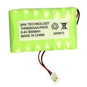 Ni-MH battery packs, 7*HR800AAA 8.4V 800mAh Manufactures