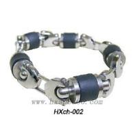 Quality Fashion Stainless Steel Men Bracelet (HXCH002) for sale