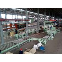 Building Material Mineral Wool Sandwich Panel Line For Ceiling Board Manufactures