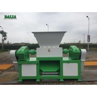 Durable Double Shaft Metal Shredder Machine High Capacity Copper Cable Shredder Manufactures