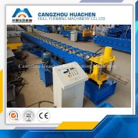 High Performance Door Frame Roll Forming Machine PLC Control With Hydraulic Cutting Manufactures