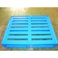 China Durable Economical Powder Coating Steel Pallets With Four Way Entry on sale