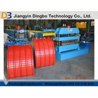 0.3-0.8mm Thick Colour Coated Steel Roof Panel Curving Machine Manufactures