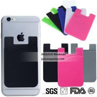 China Buy hot selling mobile phone accessories colorful silicone smart wallet with logo print on sale