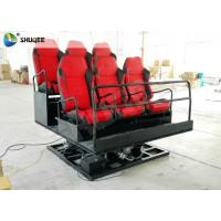 5D 7D XD Theater System Amusement Rides ,  Motion Seat Theater Simulator Manufactures