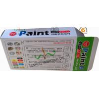 Fancy Cardboard Office Paper Box , Multi Color Painting Marker Pen Packaging Box Manufactures