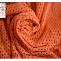 Knitted Mesh Inherent Fr Fabric / Inherent Fire Resistant Material Fabric For Safety Workwear Manufactures