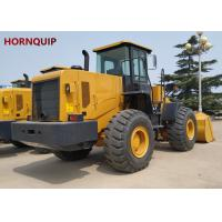 China Professional 5 Ton Wheel Loader Construction Machine With Loader Attachments on sale