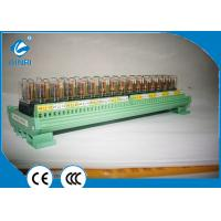 China AC 220V Output PLC Relay Module , 16 Channel Omron Relay Module For Servo System on sale