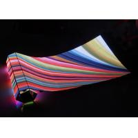 Quality Large P4.81 Flexible Led Panel Video Screen , Soft Led Display Screen Waterproof for sale
