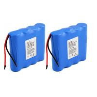 High Capacity Lithium Ion Rechargeable Battery Pack For LED Light , 7.4V 4400mAh