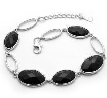 Gemstone  & Silver Bracelet Manufactures