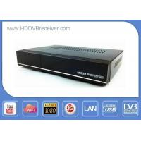 China ALI3618 Combo DVB HD Receiver S2 / C / T2 Full HD Compact Size S2 T2 Cable Media Player on sale