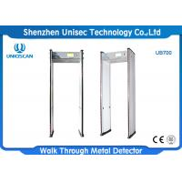 China Security Walk Through Metal Detector UB700 High Sensitivity For Large Public Events on sale