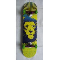 7 ply Canadian Maple Wood Skateboard With heat Transfer Manufactures